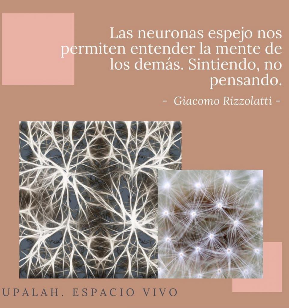 Neuronas espejo. IG Upalah.Espacio